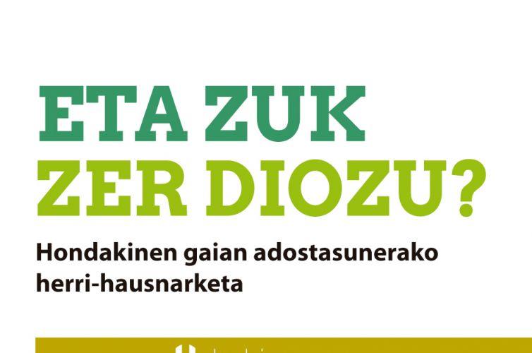 <strong>Segura</strong><br/> ETA ZUK ZER DIOZU? Hondakinen gaian adostasunerako herri-hausnarketa